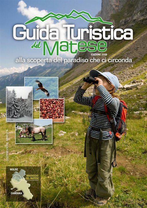 Copertina Guida Turistica del Matese 2008