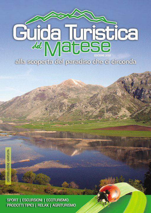 Copertina Guida Turistica del Matese 2010