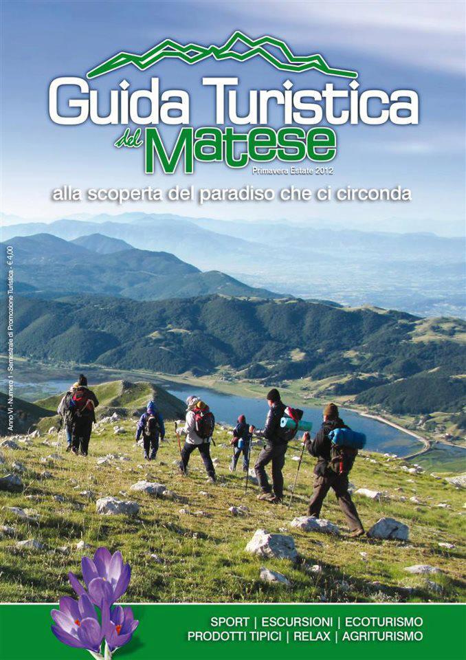 Copertina Guida Turistica del Matese Primavera Estate 2012